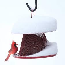 Cardinal Bird Home Decor by No No Red Cardinal Wild Bird Feeder Walmart Com