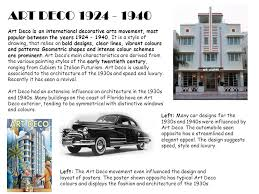 art deco art deco is an international decorative arts movement