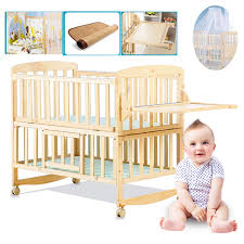 baby on the shelf beedome pine baby bed with shelf can extend to 1 4meter kids bed