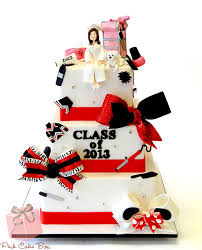 graduation cake toppers haleigh s cosmetology graduation cake graduation cakes