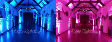 wireless led uplighting led uplighters for wedding cheap led
