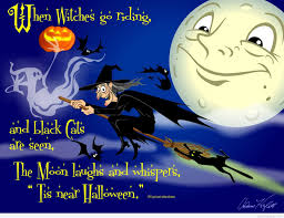 Free Ecards Halloween Animated by Witches Happy Halloween