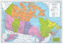 canada states map map of canada with cities and provinces major tourist
