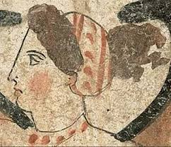 ancient greeks had the belief that a pale face was a beautiful face not that diffe