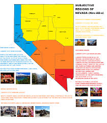 Map Of Arizona And Nevada by Are We Still Doing These Here U0027s My Subjective Map Of Nevada