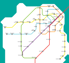 Dc Metro Blue Line Map by Bay Area Man Creates The Sf Muni Metro Map Of Our Dreams Alice 97 3