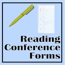 independent reading conference forms for the teacher the