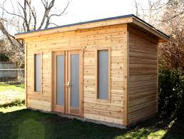 shed roof house cottage bunkie with loft summerstyle