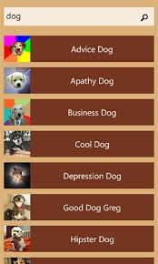 Advice Dog Meme Generator - get memegenerator microsoft store
