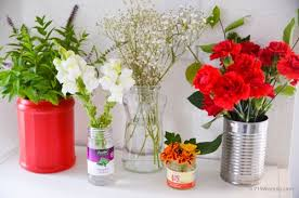Floral Vases And Containers Think Outside The Vase Cheap Or Free Flower Containers