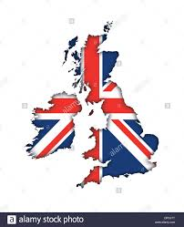 great britain england uk flag map banner icon logo union jack