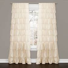 Single Window Curtain by Saturday Knight Sarah Ruffled Priscilla Curtain Window Melody
