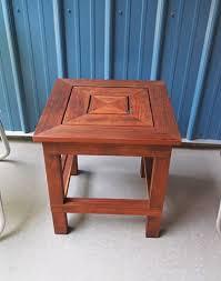 Redwood Patio Table Andrew Traub Studio