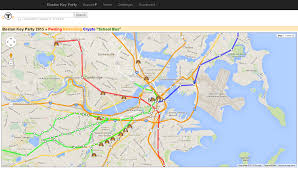 Map Of Boston College Michael Weissbacher 2015 March