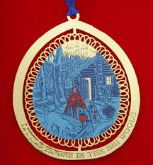 collectors christmas ornament u201clittle house in the big woods