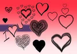 21 heart brushes download for photoshop gimp design trends