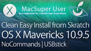 download here os x mavericks 10 9 5 no ads 1link clean install