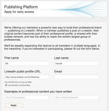 Post My Resume On Linkedin How To Publish A Post On Linkedin Bill Hartzer Pulse Linkedin