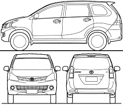 toyota line the blueprints com blueprints u003e cars u003e toyota u003e toyota avanza 2015