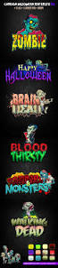 cartoon halloween text effect v2 by mixmedia087 graphicriver