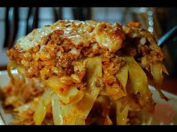 Cabbage Roll Casserole & Video fortable Food