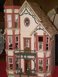 1 144th scale queen anne doll houses small scale pinterest