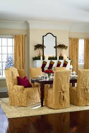 Fitted Dining Room Chair Covers by Sure Fit Slipcovers Blog