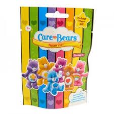 care bears neon fun series 5 blind bags play