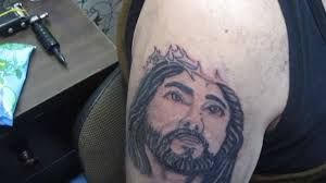 tattoo of jesus youtube
