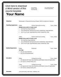 Resume Outline Template Resume Example Resume Outline Worksheet Templates Resume Format