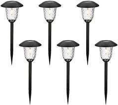 paradise rotating solar lights paradise set of 6 v filament solar light set page 1 qvc com