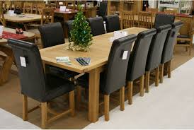 Emejing  Chair Dining Room Set Photos Room Design Ideas - Black dining table for 10