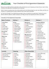 Home Interior Design Checklist Apartment Apartment Check List Best Home Design Modern And