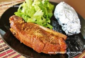 recipe for 4 ingredient slow cooker crockpot country style ribs
