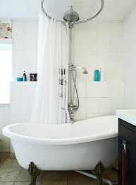 Shower Curtain For Curved Rod 52 Best Curved Shower Curtain Rods Images On Pinterest Bathroom