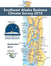 Southeast Alaska Map Southeast Alaska Business Climate Survey 2015 Rain Coast Data