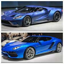 lamborghini asterion the very similar looking ford gt vs concept lamborghini asterion