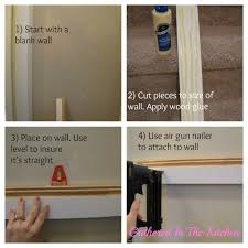 towel hook shelf u0026 beadboard wall tutorial
