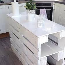 fabrication d un ilot central de cuisine table ilot de cuisine fabriquer un ilot de cuisine en palettes