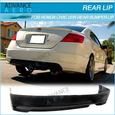 2007 honda civic si coupe kits for 06 07 08 09 10 11 honda civic coupe 2 door hfp style pu rear