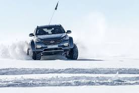 The Car Interior Preheater Hyundai Has Crossed The Antarctic In A Mostly Standard Santa Fe