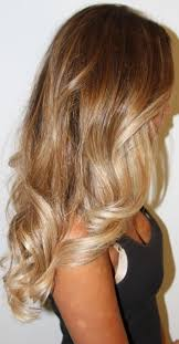 honey brown hair with blonde ombre blonde ombre
