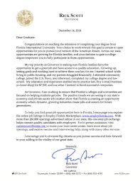 letter to fall graduates from gov rick