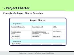 dmaic report template project charter templates project charter dmaic project charter