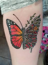 my ribcage butterfly done by sequoya at broken clover in