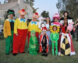 disney alice in wonderland costumes tweedle dee tweedle dum mad