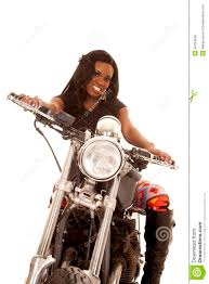 american motorcycle boots african american woman leggings motorcycle look stock photo