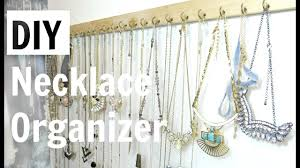 necklace organizer images Diy necklace organizer jpg