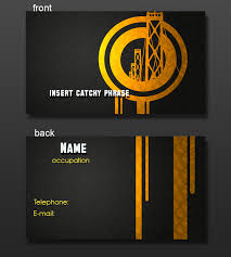 business card layout 1 by yellow five on deviantart