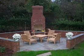 Firepit Brick Barbecue Outdoor Pit Chimney